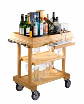 natural drinks trolley